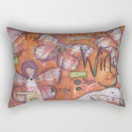 Creative Wings Rectangular Pillow