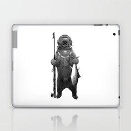 Harpoon Fishing Bear Laptop & iPad Skin