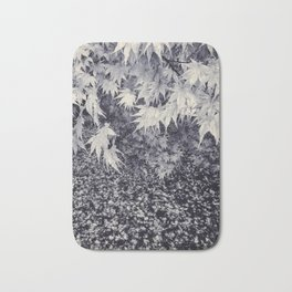 Infinity Maple Leaves, Fall, Autumn Trees Bath Mat