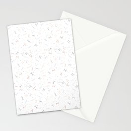 Ditzy Feynman diagrams and Particles on White Stationery Cards