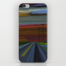 intersection of hands creek iPhone Skin