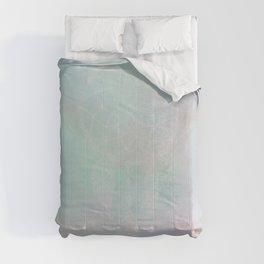 Abstract Light Blue Rainbow Dreamcatcher Comforters