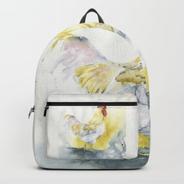 White Rooster Backpack