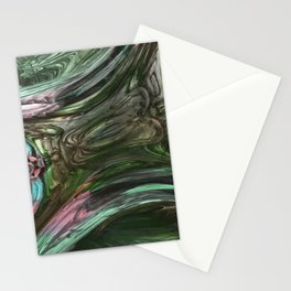 Distortion Mirror Stationery Cards