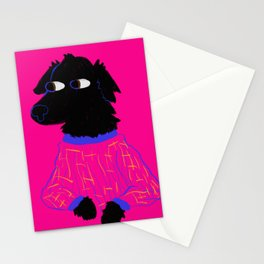 God's Most Beautiful Creature in Pajamas Stationery Cards