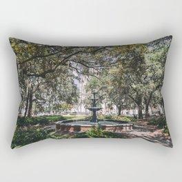 Lafayette Square - Savannah, Georgia Rectangular Pillow