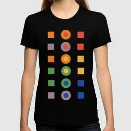 Chevreul Laws of Contrast of Colour, Plate VI, 1860, Remake T-shirt