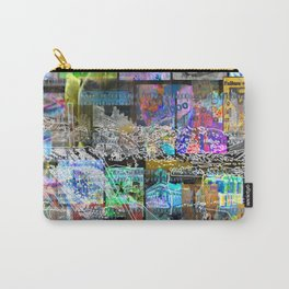 Dedication Not Medication Carry-All Pouch