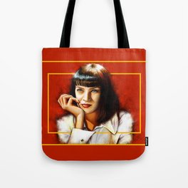 Mia Thurman Tote Bag
