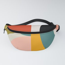 geometry shapes 3 Fanny Pack