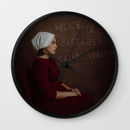 Blessed Be the Fight Wall Clock