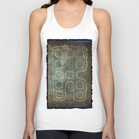 android Tank Tops featuring ANDROID by lucborell