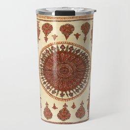 Kerman South Persian Embroidery Print Travel Mug