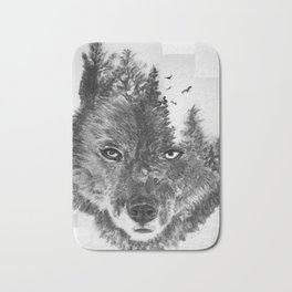 The Wild and the Wilderness II Bath Mat