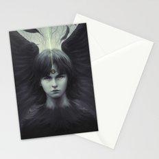 Eye of Raven Stationery Cards