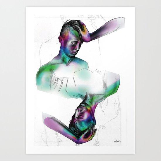 you / uoy Art Print