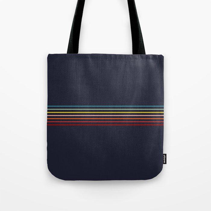 Kagekatsu - Classic Rainbow Retro Stripes Tote Bag