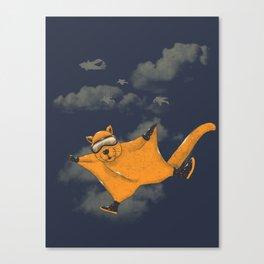 Wingsuit Flyer Canvas Print