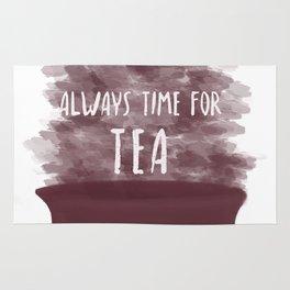 Always Time For Tea Rug