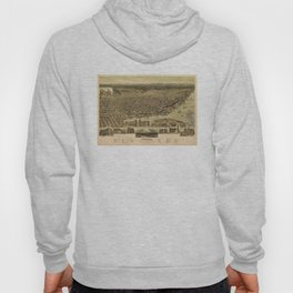 Vintage Pictorial Map of Tacoma WA (1890) Hoody