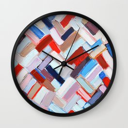 Internodal Construct Wall Clock