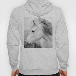 Black and white Horse Hoody