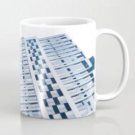 Teal Building Coffee Mug