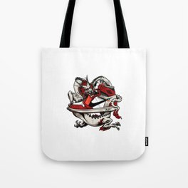 Air Jordan 1 Dragon Tote Bag