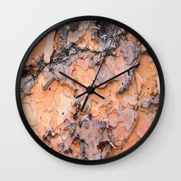 Fallen Bark rustic decor Wall Clock