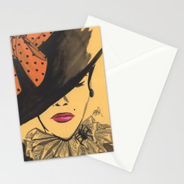 Sophisticated Witch Stationery Cards