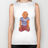 ohm Biker Tanks featuring Ohm by Masonjohnson
