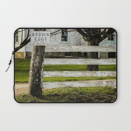 Brown Eggs for Sale Laptop Sleeve