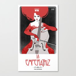 La Emperatriz (The Empress) Canvas Print