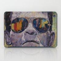 frankenstein iPad Cases featuring Frankenstein by Michael Creese