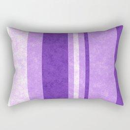 Retro Vintage Lilac Grunge Stripes Rectangular Pillow