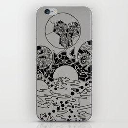 Wormholes iPhone Skin
