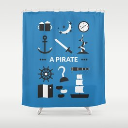 OUAT - A Pirate Shower Curtain
