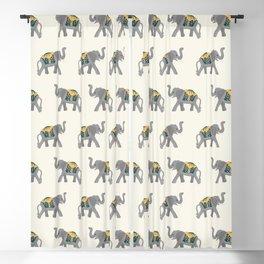 Walk like an Elephant Blackout Curtain