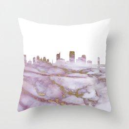 Sacramento Skyline Throw Pillow