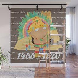 Moctezuma Xocoyotzin Wall Mural