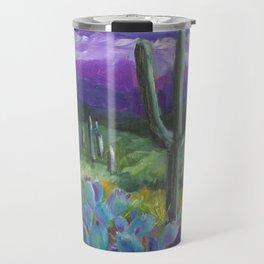 Dusk in the Desert Travel Mug