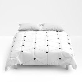 stroke of cube Comforters