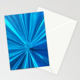 424 - Abstract Water Design Stationery Cards
