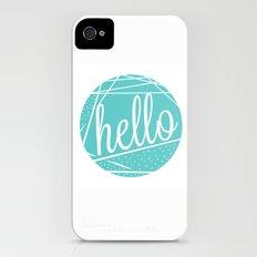 hello Slim Case iPhone (4, 4s)