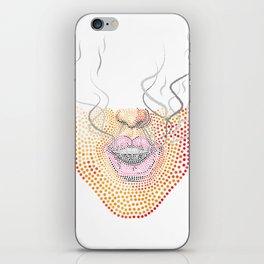 Ganja Theory (White) iPhone Skin