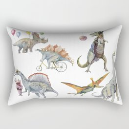 PARTY OF DINOSAURS Rectangular Pillow