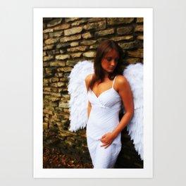 """""""Angel Among Us, image 1"""" Art Print"""