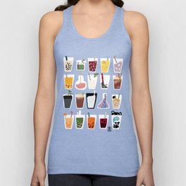 Boba Wall Unisex Tank Top