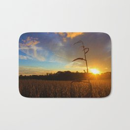 Simple Sunset Bath Mat