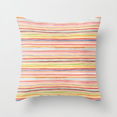 Robayre Watercolor Lines Throw Pillow